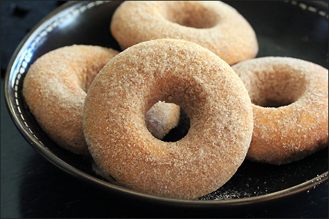 Pumpkin Spice Doughnuts Recipe — Dishmaps