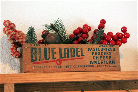 Christmas Cheese Box