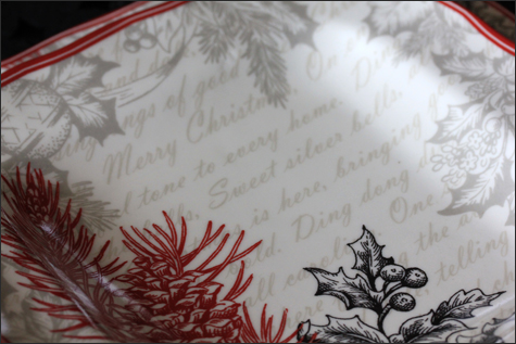 Detailed Christmas Dish