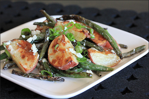 Foodiddy - Roasted Red Potatoes & Green Beans