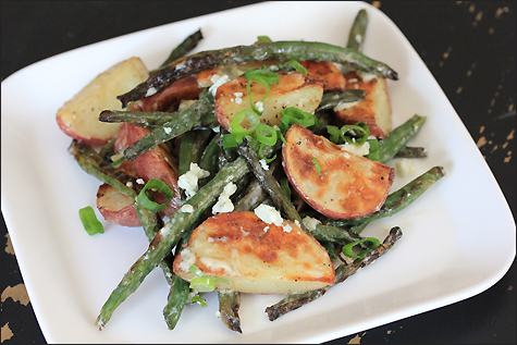 Roasted Red Potatoes & Green Beans