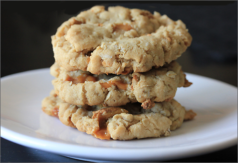 Recipe for apple oatmeal cookies