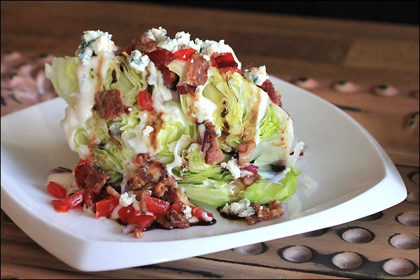blue cheese wedge salad outback