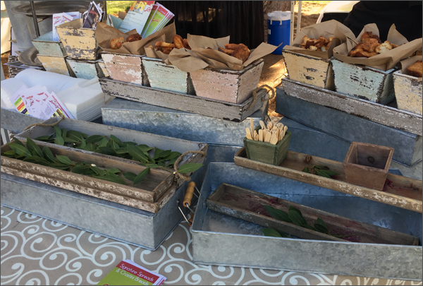California Fig Fest 2015 - Love and Garlic Booth