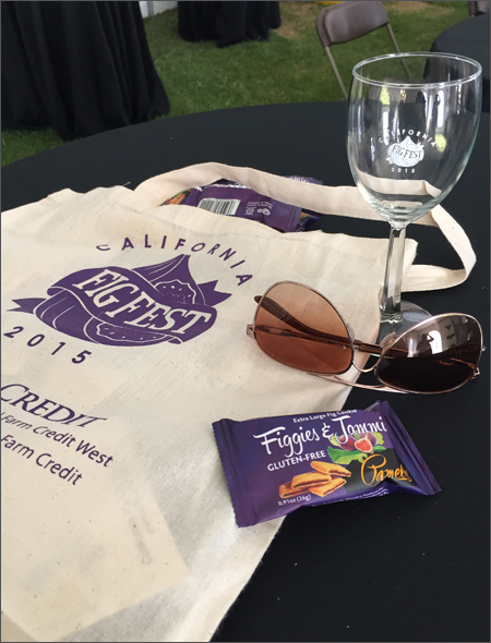 California Fig Fest 2015 Swag Bag