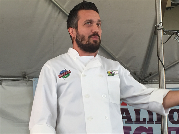 California Fig Fest 2015 - Chef Fabio Viviani