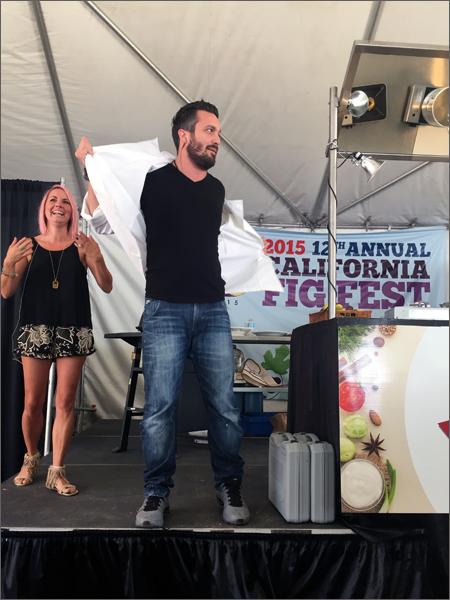 California Fig Fest 2015 - Chef Fabio Viviani