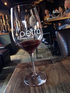Petra wine glass