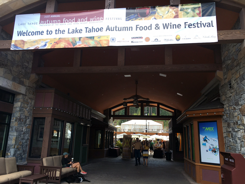 Lake Tahoe Autumn Food and Wine Festival