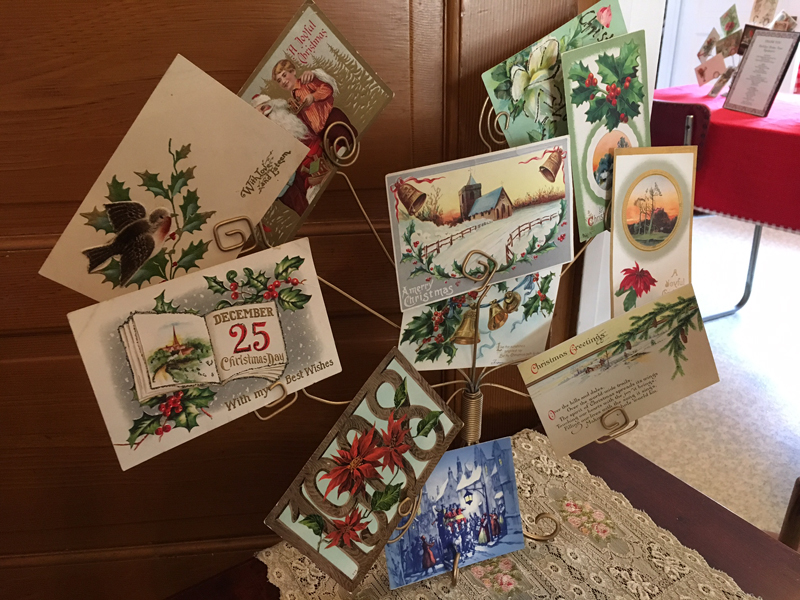 Hill House Christmas Postcards