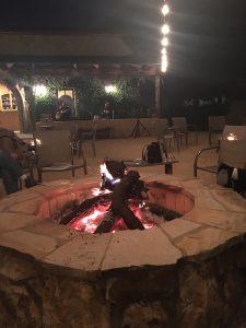Abundance Vineyards Fire Pit