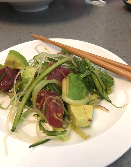 Umai Bar and Grill - Poke Salad