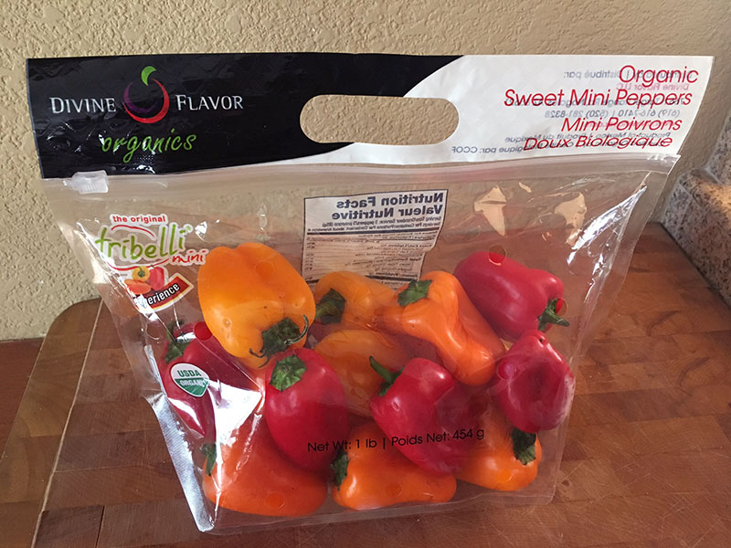 Organic Sweet Peppers