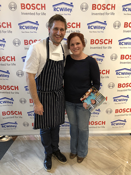 Chef Curtis Stone and Foodiddy