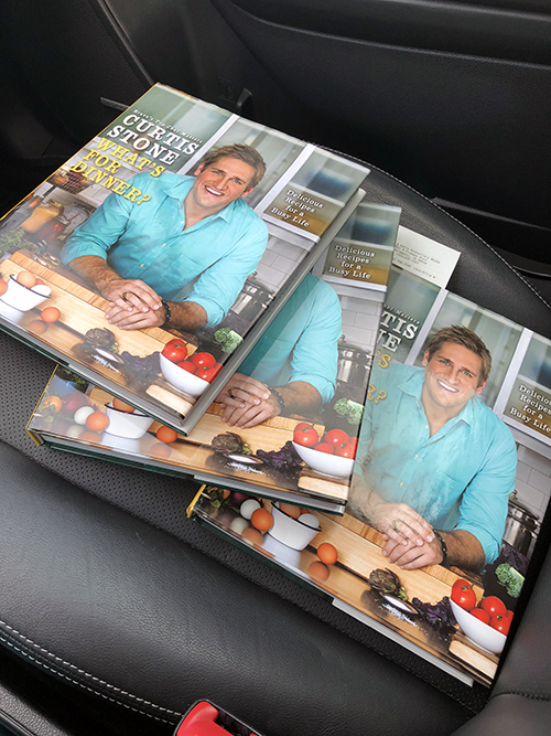 Chef Curtis Stone - What's For Dinner Cookbook