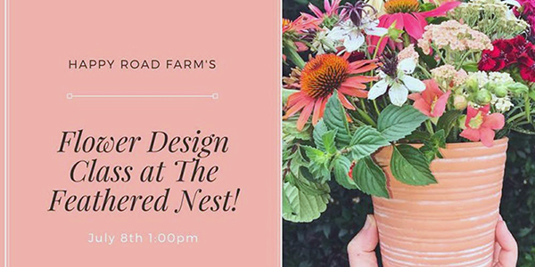 Flower Class at The Feathered Nest