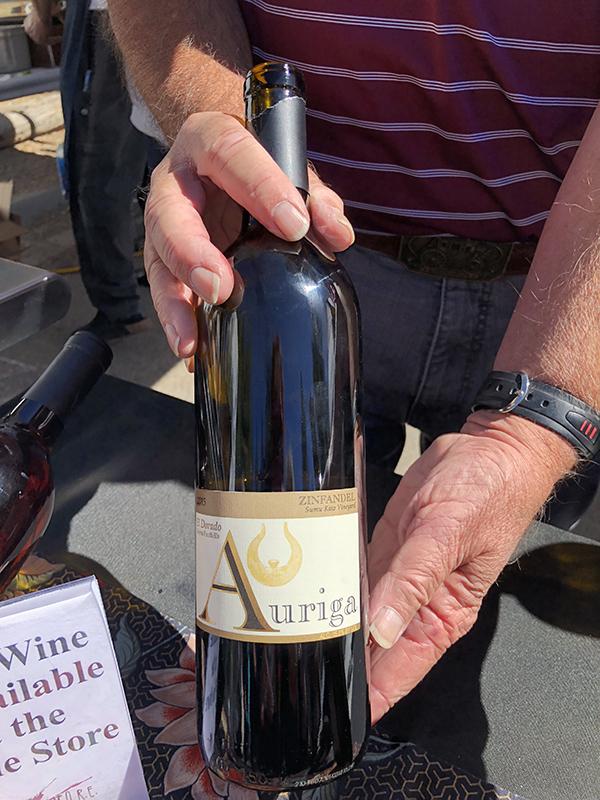 Auriga Zinfandel Wine