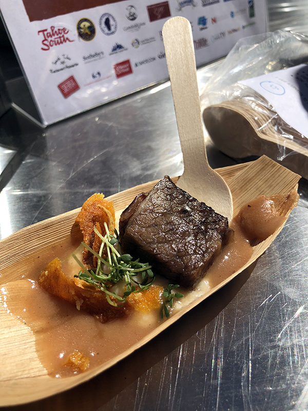Edgewood Tahoe Short Rib Sample