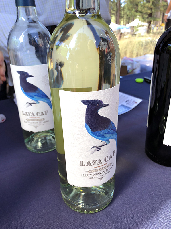 Bottle of Lava Cap Sauvignon Blanc