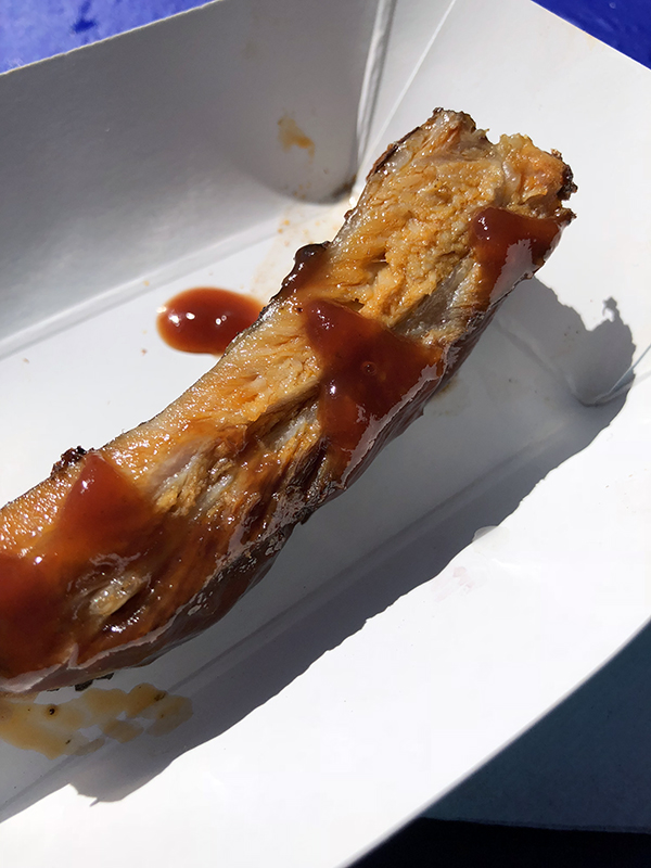 St. Louis Style Rib sample